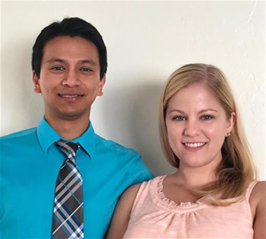 Hi, We're Rijan and Sarah Shrestha